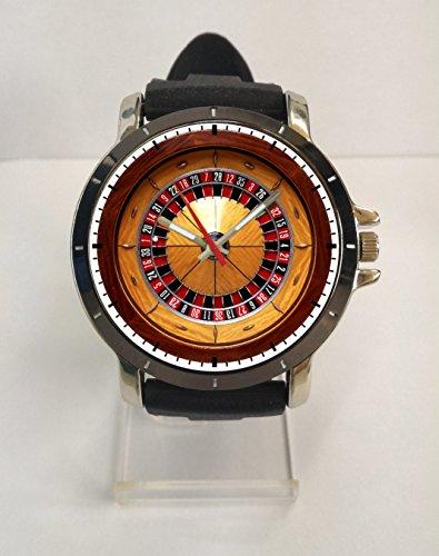 NEW HOT ITEM EUROPEAN ROULETTE WHEEL SPORT RUBBER WATCH - Wheel Watch