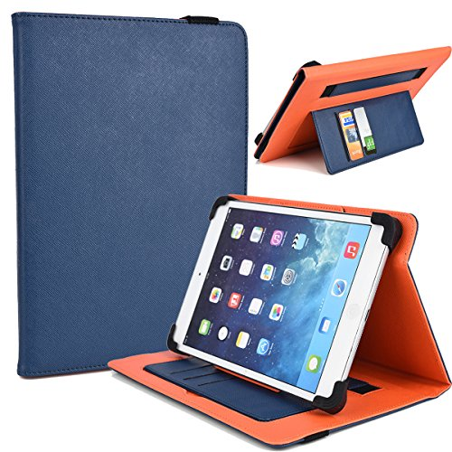"""NuVur Universal Faux Leather ::Rotating:: Folio 10"""" inch ..."""