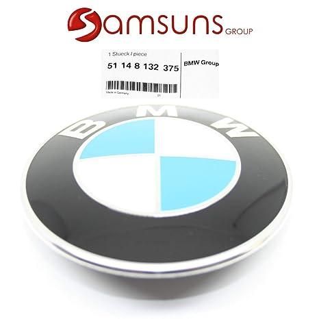 Bonnet pour BMW New avant 82mm V/éritable embl/ème Badge 51148132375