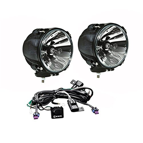 KC HiLiTES 9643 Gravity G7 40W Carbon POD with Spot Beam LED System, Pair