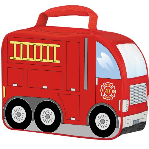 Thermos Novelty Soft Lunch Kit, Firetruck - Kid Kit Box