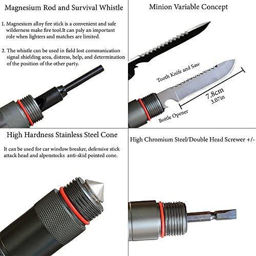 Adventure,Emergency Compact /& Durable Entrenching Tool for Camping Hiking,Backpacking,Fishing Waygan Folding Shovel Survival Tool Kit- Multi-Function Military Portable Camping Shovel