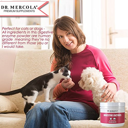 Dr. Mercola Digestive Enzymes For Pets - Dietary Supplement For Cats & Dogs - Contains 5 Enzymes - 5.26 oz by Dr. Mercola (Image #5)