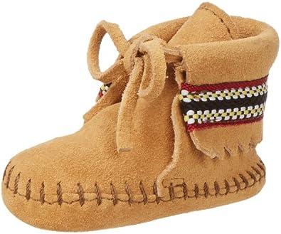 Minnetonka Braid Bootie (Infant/Toddler