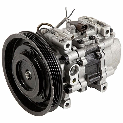 Reman AC Compressor & A/C Clutch For Toyota Paseo & Tercel - BuyAutoParts 60-00789RC Remanufactured (Paseo Ac Toyota Compressor)
