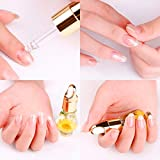eye liner stilla - LtrottedJ 1 PCS Mix Taste Dried Flowers Cuticle Oil Pen Nai,l Art Care Treatment Manicure
