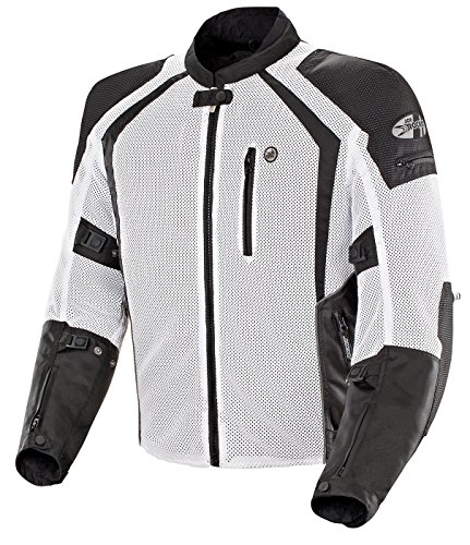 Joe Rocket Phoenix Ion Mesh Jacket-White-XL