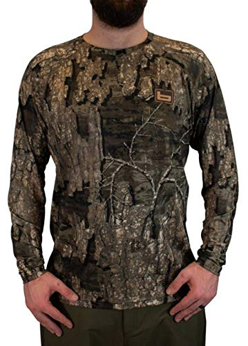 Banded Tech Stalker Mock Shirt-Timber-2XL by Banded