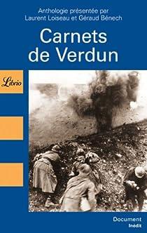 Carnets de Verdun par Loiseau