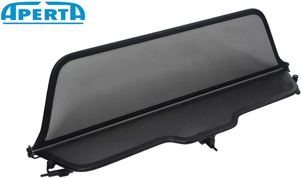 Windstopper Saab Convertible Tailor Made Windblocker Aperta Black winddeflector for Saab 9-3,900 YS3D