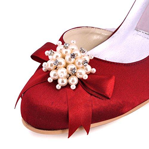 Kevin Fashion - Zapatos de boda a la moda Mujer Morado - violeta