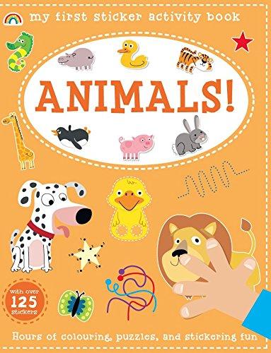 My First Sticker Activity Book - Animals! PDF