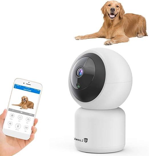 Decdeal 1080P WiFi Cámara para Mascotas IR Visión Nocturna Alerta ...