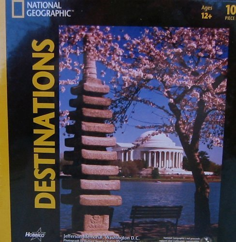 National Geographic Destinations Jefferson Memorial 1000pc Jigsaw Puzzle by Hobbico
