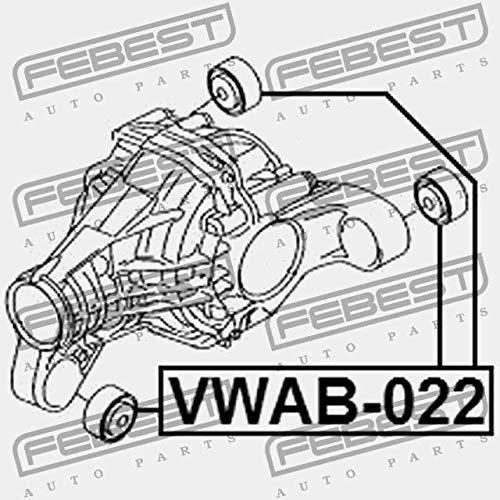 SILENTBLOCK DEL CUSCINO DIFFERENZIALE Febest VWAB-022