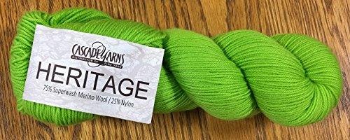 Cascade Yarns - Heritage - Jasmine Green 5722 ()