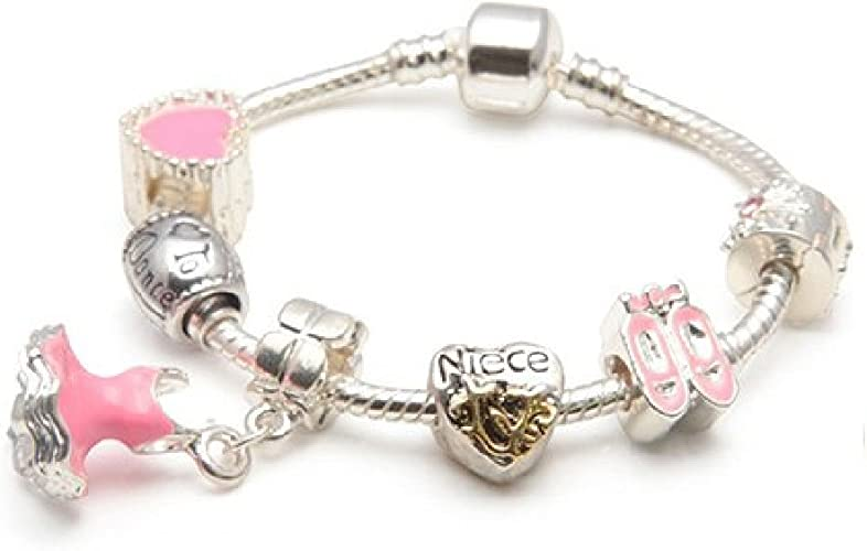 Silvertone Mini Pink Ballet Shoes You Are More Loved Bangle Bracelet