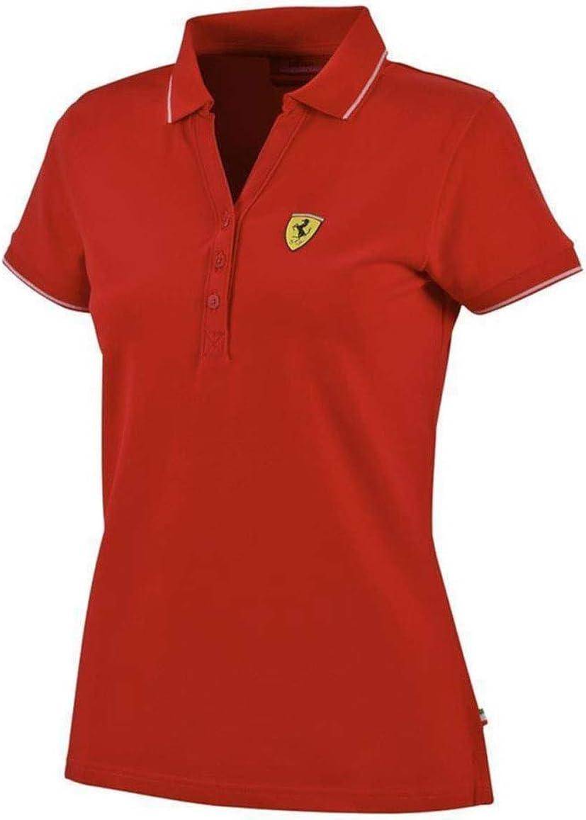 Ferrari F1 - Falda de piqué para Mujer (algodón), Color Rojo ...