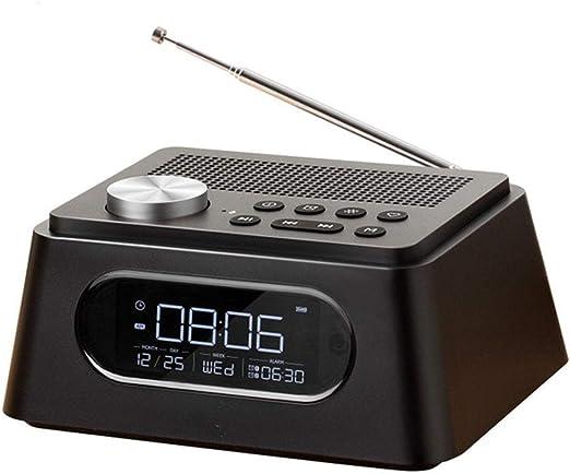 1-1 Bluetooth Reloj de Alarma electrónico Digital, Pantalla LED ...
