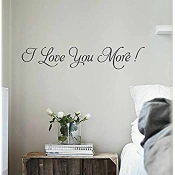 Amazoncom You and me bedroom Vinyl Wall Decal Sticker Quote Art