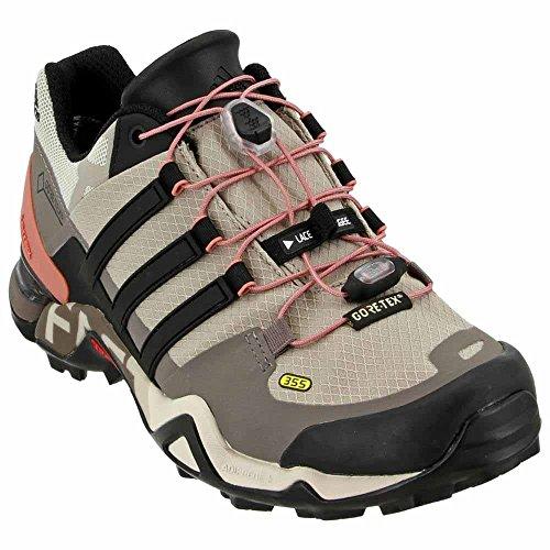 adidas outdoor Womens Terrex Fast R GTX? W Vapour Grey/Black/Tech Earth Sneaker 8.5 B (M)