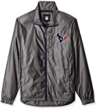 G-III Sports NFL Houston Texans The Executive Full Zip Jacket, Small, Charcoal Gray