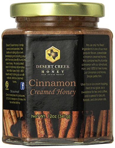 - Desert Creek Honey Cinnamon Creamed Honey, 14 oz.