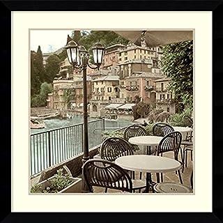 Framed Wall Art Print Porto Caffe, Italy by Alan Blaustein 32.38 x 32.38 (B015IAFRQS) | Amazon price tracker / tracking, Amazon price history charts, Amazon price watches, Amazon price drop alerts