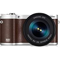 Samsung NX300 Mirrorless Digital Camera with 18-55mm f/3.5-5..6 OIS Lens (Brown) - International Version (No Warranty)