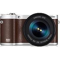 Samsung NX300 Mirrorless Digital Camera with 18-55mm f/3.5-5..6 OIS Lens (Brown) - International Version (No Warranty)