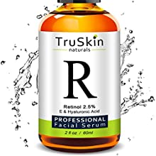 "What Amazon Customers Are Saying About TruSkin Naturals Retinol Serum ""The morning after I used this I could see a difference in my skin; it was smoother and clearer. I have used another retinol product for years and never got this result."" ""..."
