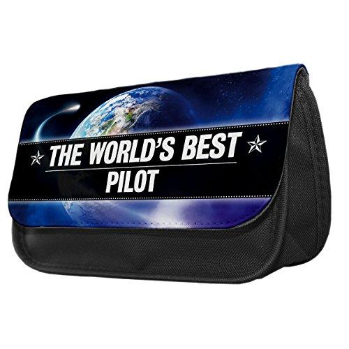 World s Best Pilot Bleistift Fall/Make-up Tasche 138 xktQMqML1