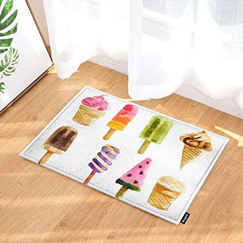 Amazon.com: Mugod Ice Cream Indoor/Outdoor Doormat ...