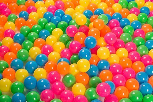 Play22 Ball Pit 200 Pack - Ball Pit Balls Crush Proof BPA Free - Includes Reusable Zipper Mesh Bag - Colorful Fun Plastic Balls - Ball Pit for Kids and Baby - Ball Pit for Any Ball Pool - Original by Play22 (Image #4)