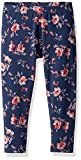 Splendid Little Girls' Floral Print Legging, Indigo Fade, 6X