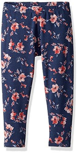 Splendid Little Girls' Floral Print Legging, Indigo Fade, 6X (Splendid Leggings Littles)