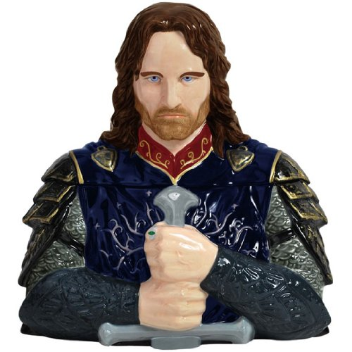 Westland Giftware Ceramic Cookie Jar, 10.5-Inch, The Lord of The Rings (Lord Of The Rings Collectibles)