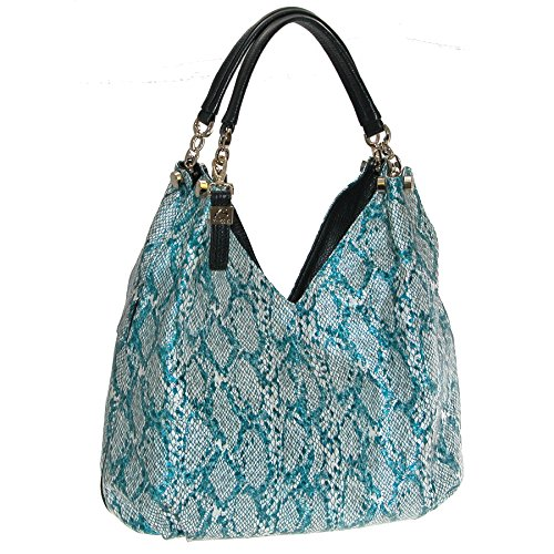 Buxton Women's Margaret Hobo Bag, Green by Buxton