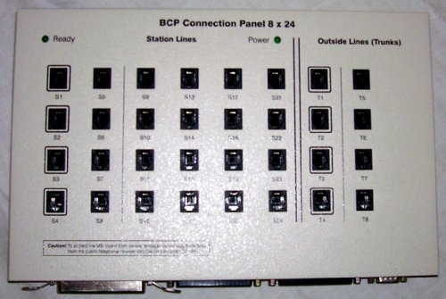 DIALOGIC BCP CONNECTION PANEL 8x24 BCP-007 Rev A (Dual Mode of Operation) Bcp Panel