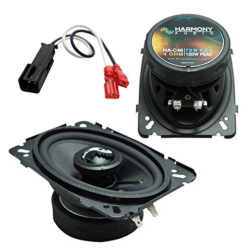 Door Front Grand Pontiac Am (Fits Pontiac Grand Am 1996-2005 Front Door Replacement Harmony HA-C46 Premium Speakers)