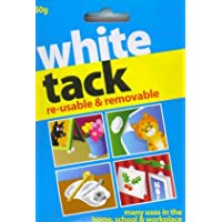 WHITE TACK - REUSABLE & REMOVEABLE