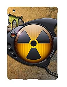 Ipad 2/3/4 Scratch-proof Protection Case Cover For Ipad/ Hot Toxic Robot Fish Phone Case