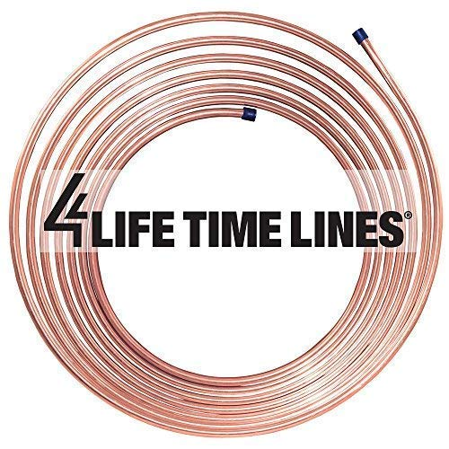 Longest Lasting Lines in Automotive Rust Proof 25 ft 1//4 in Copper Nickel Coil Easy to bend BP Wall Thickness Brake or Fuel Tubing Replacement Tubing .028 8,932 PSI