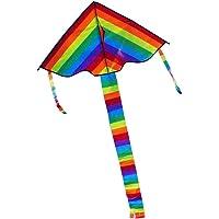 El Arco Iris Colorido de la Cometa de la Cola Larga Aire Libre del Vuelo Juguetes de niños para niños Adultos Gran…