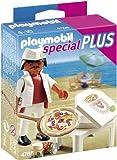 Playmobil Especiales Plus 4766 - Pizzero (4766) - Playmobil Pizzero, Juguete Playmobil Minifiguras A partir de 4 años