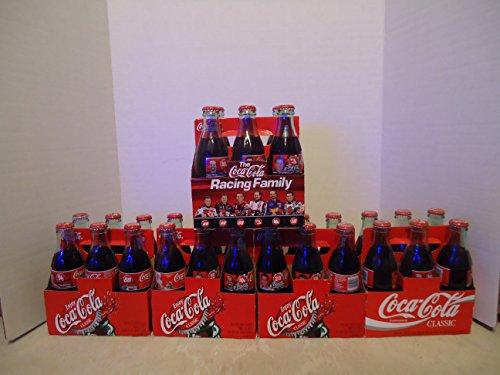 Coca Cola Racing Family Collectors Bottle Sodas LOT OF 30 w/Dale Earnhardt Sr & Jr & more