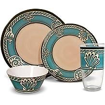 Pfaltzgraff Montego Melamine Dinnerware Set (16 Piece)