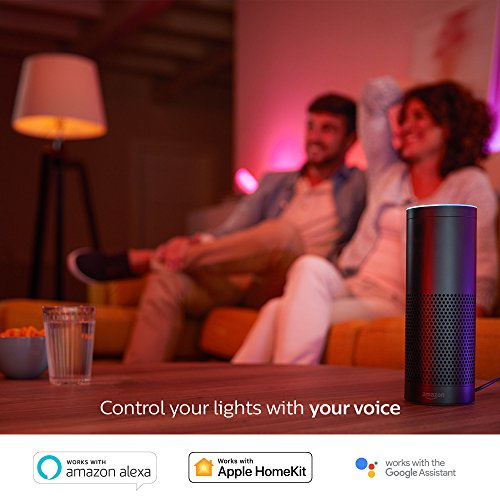 Philips Hue White and Color Ambiance 3rd Generation A19 60W Equivalent Dimmable LED Smart Bulb (Compatible with Amazon Alexa, Apple HomeKit, and Google Assistant) by Philips Lighting Company (PHDM9) (Image #4)