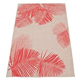 Brylanehome Cristol Palm Outdoor Rug (Coral,8'W X 10'L)
