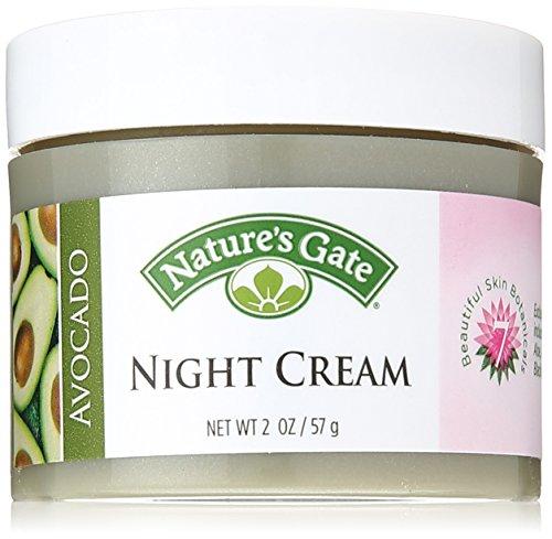2 Oz Natures Gate (Nature's Gate Avocado Night Cream, 2 Ounce)